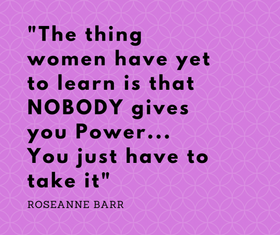 woman's quote
